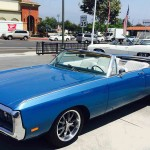 Chrysler Newport left California Classic Car Rental
